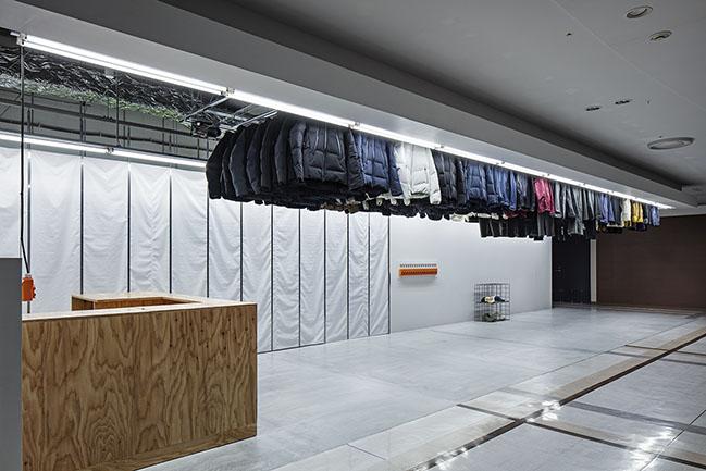 DESCENTE BLANC Sapporo by Jo Nagasaka / Schemata Architects