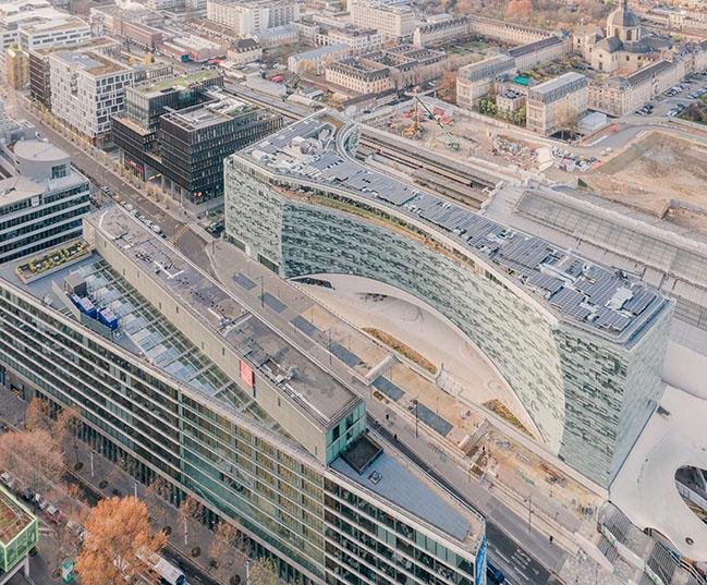 Snøhetta-designed Le Monde Group Headquaters opens in Paris