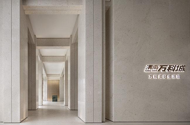 Weinan Vanke Town Sales Center by ONE-CU Interior Design Lab