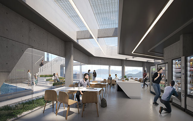 Student Residence Development at HKUST by ZHA + Leigh and Orange Limited