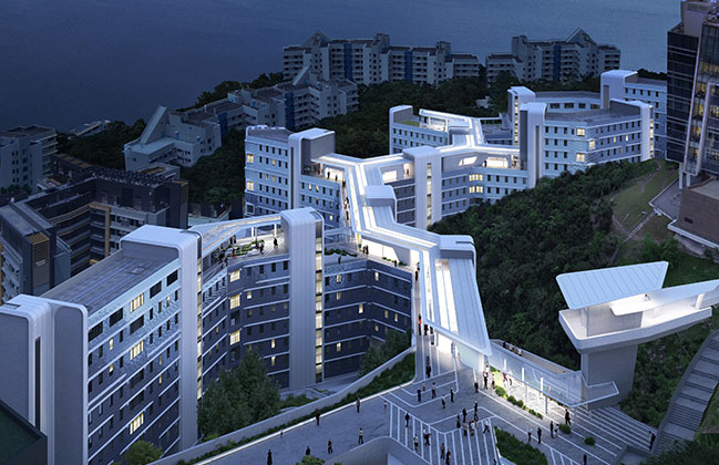 Student Residence Development at HKUST by ZHA + Leigh & Orange Limited