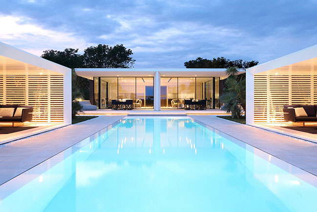 Jesolo Lido Beach Villa by JM Architecture