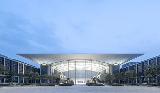 Hongdao International Conference and Exhibition by gmp Architekten completed