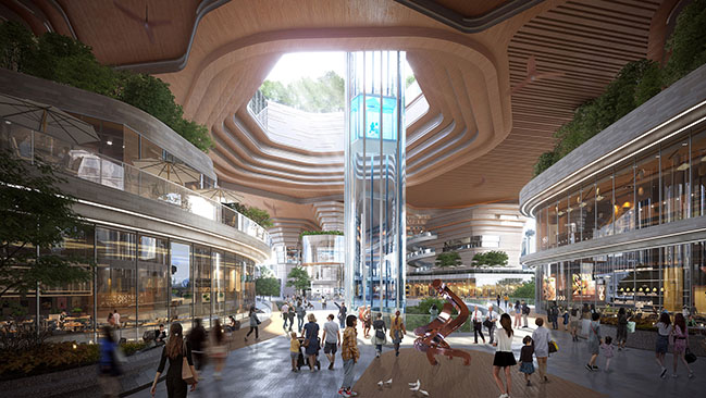 Lead8 proposes new typology for Urban City Realms