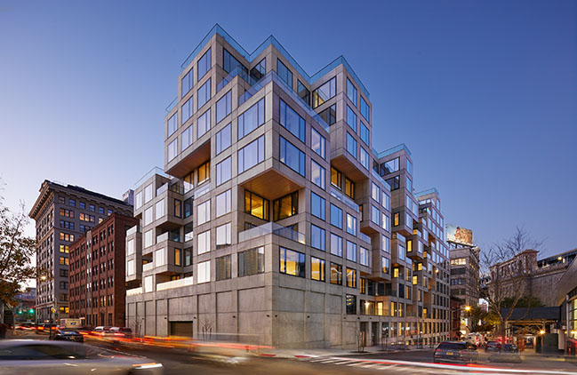 ODA Completes Rubiks Cube in DUMBO at 98 Front Street