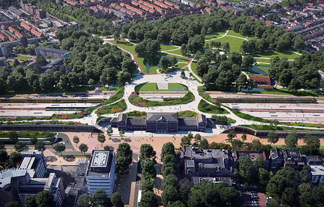 Spoorzone Dordrecht by Mecanoo