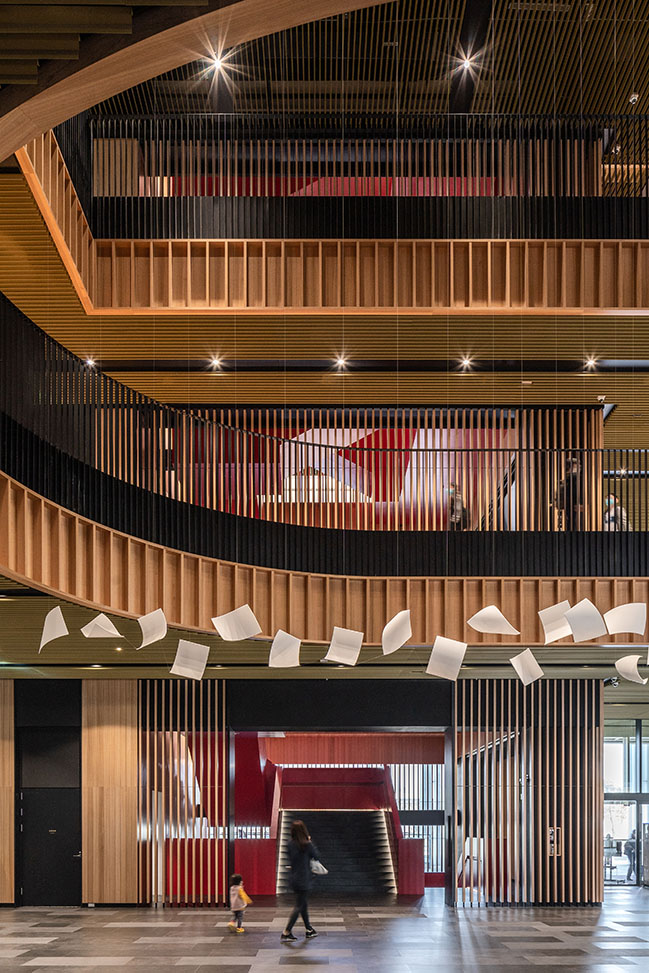 Tainan Public Library by Mecanoo and MAYU