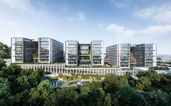 Shenzhen Pengcheng Laboratory by 10 Design