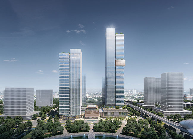 10 Design Wins Competition to Design Taseco Landmark 55 in Hanoi