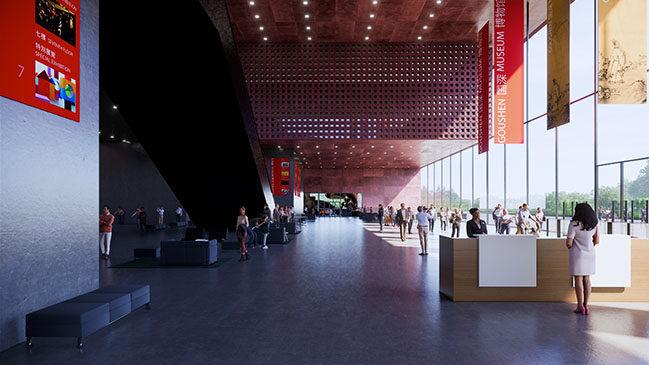 ODA and Mecanoo team up on Concept Proposal for Guoshen Design Competition
