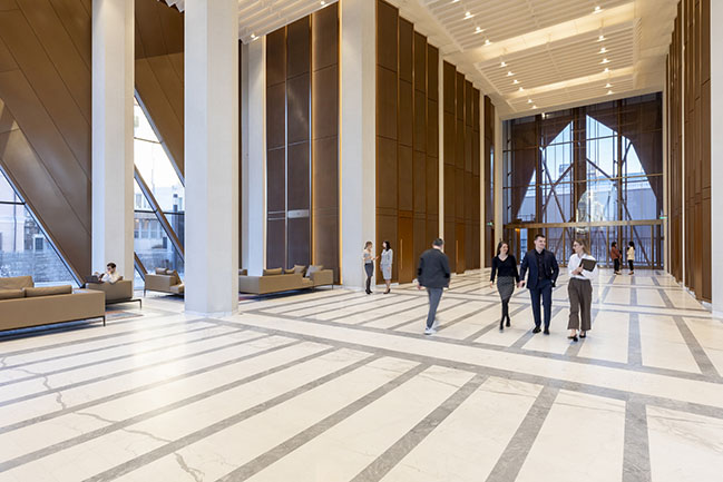 RCC Headquarters by Foster + Partners opens