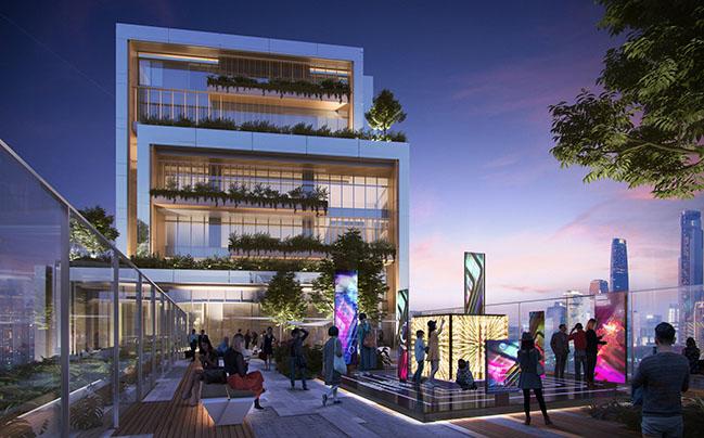 Huabang International Centre by 10 Design