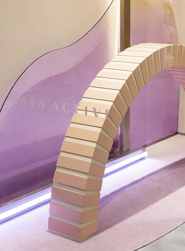 MAIA ACTIVE Flagship Store by Sò Studio
