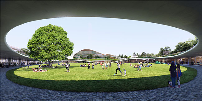 MAD Architects Releases the Design of the Jiaxing Civic Center