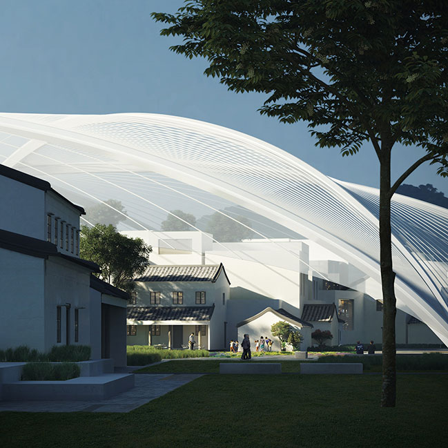 MAD unveils their design of Zhuhai Cultural Arts Center