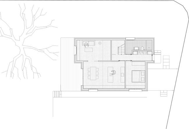 House mad of Spruce by MWArchitekten
