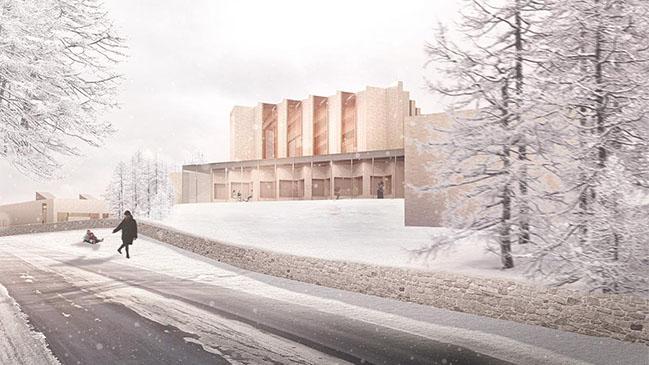 Højvangen Church by Henning Larsen
