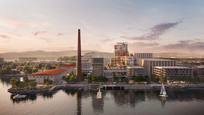 Power Station in Dogpatch by Foster + Partners breaks ground