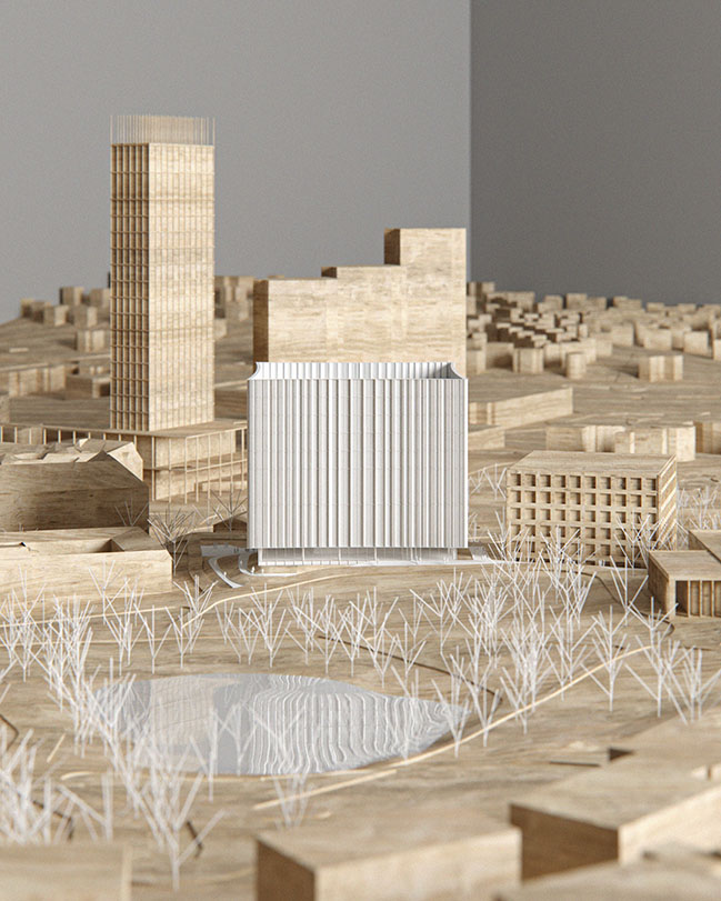 Cobe wins competition for Gothenburg University Library