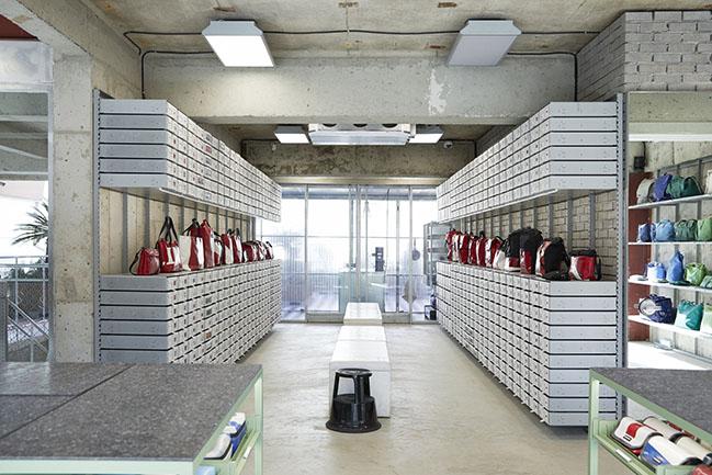 FREITAG JEJU by MMMG by Jo Nagasaka / Schemata Architects