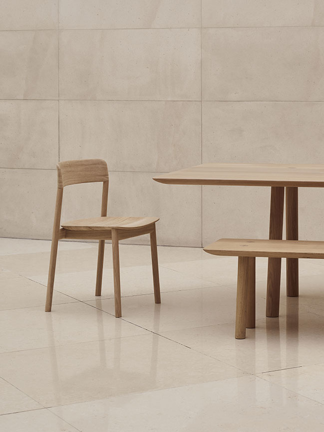 New range of chairs added to OVO furniture collection for Benchmark / Foster + Partners