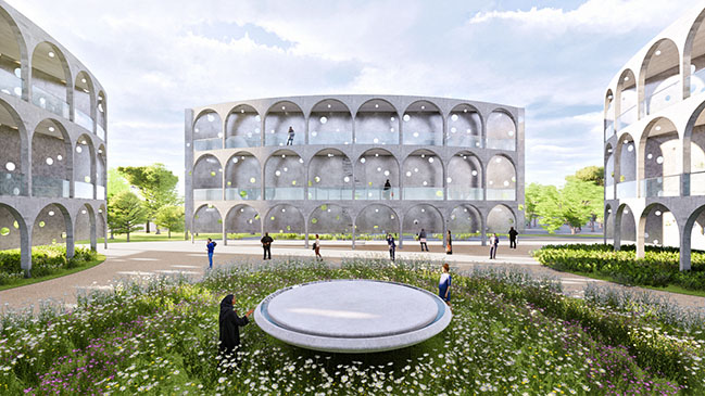 NEW MOSQUE FOR ALL by Napp Studio and Architects