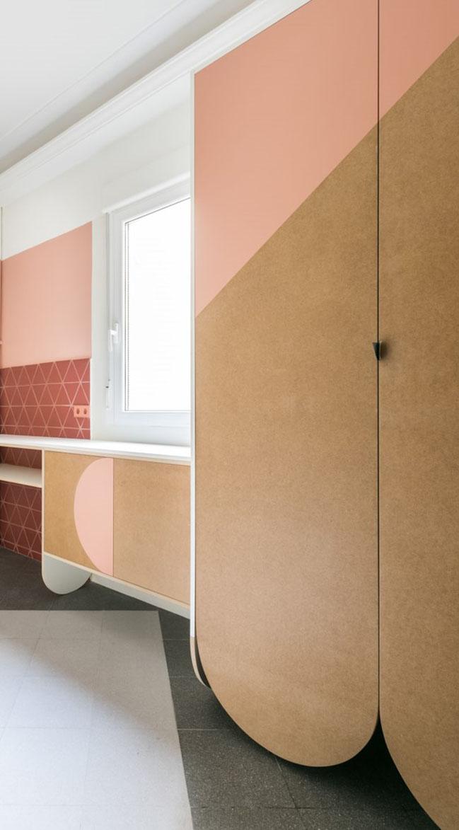 Interior renovation of JJ74 apartment by cumulolimbo studio