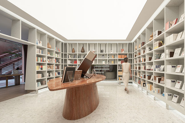 Toyou Bookstore by Wutopia Lab