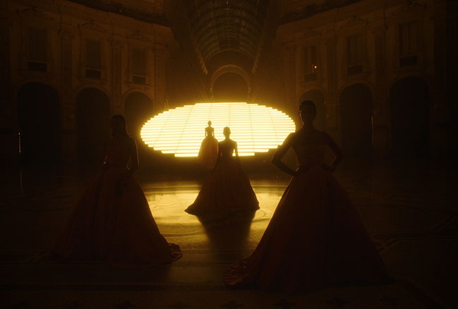 AMO Conceptualizes set design and video art direction for BVLGARI Fine Jewelry Show Summer 2021