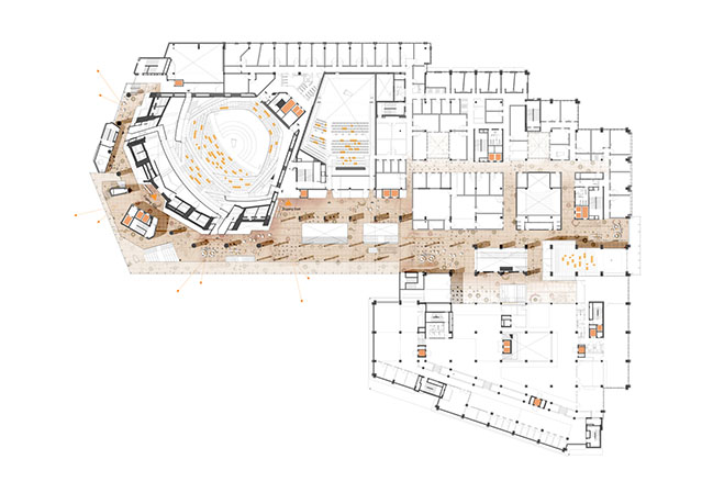 HENN Unveils Transformation of the Gasteig, the Largest Cultural Center in Europe