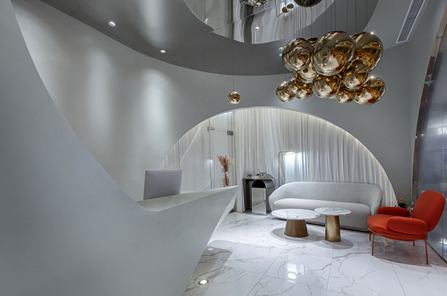 CICI Beauty & Slimming Experience Store Design by Towodesign