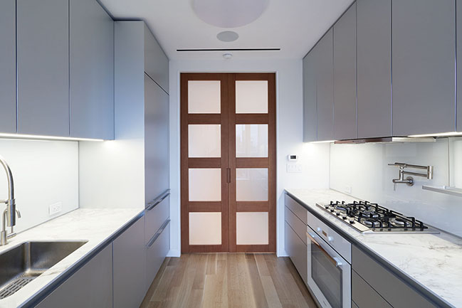 Upper West Side Penthouse by MQ Architecture