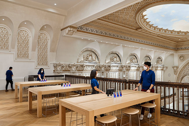Apple Tower Theatre by Foster + Partners in Downtown Los Angeles Opened