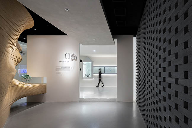 Cave Dwelling Shall Predict the Future - Experience Hall for Passive House by Towodesign