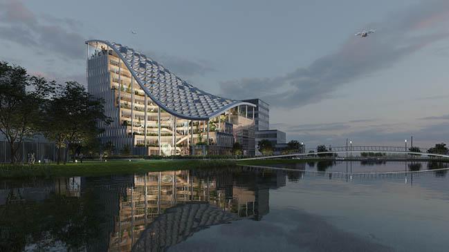 MVRDV designs R&D headquarters in Shanghai for agriculture technology company Lankuaikei