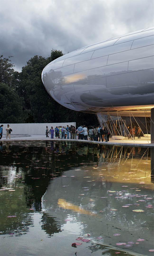 MAD Unveils Design for the Aranya - Cloud Center