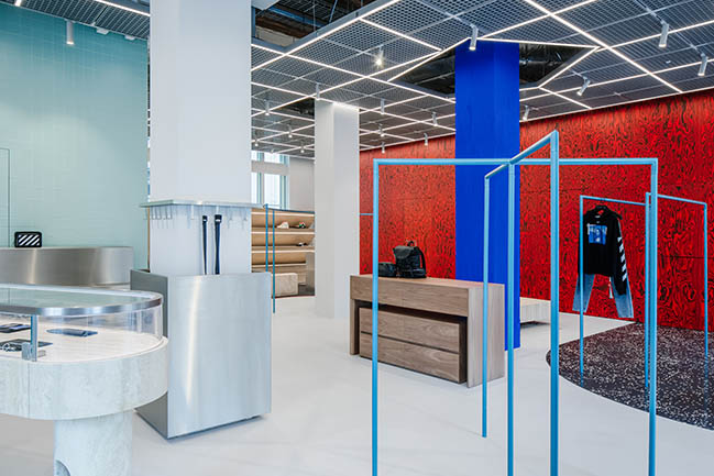 AMO-Designed Off-White Flagship Store opens in Paris