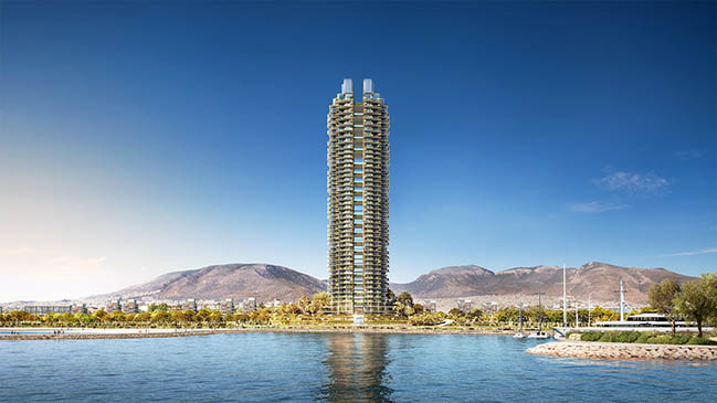 Marina Tower by Foster + Partners
