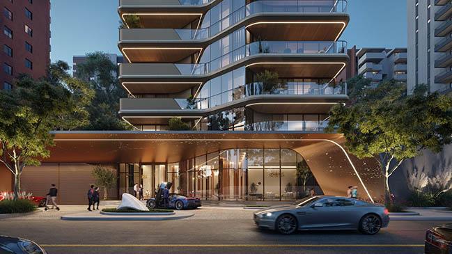 Pininfarina to Design Torre Carra, a High-End Residential Development from Grupo San Siro