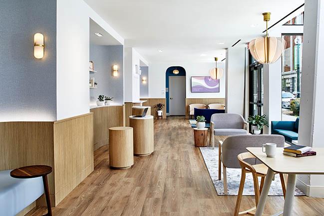 Alda Ly Architecture Designs Liv by Advantia Health in Washington, DC