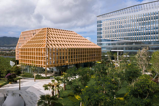 Sanya Farm Lab by CLOU architects