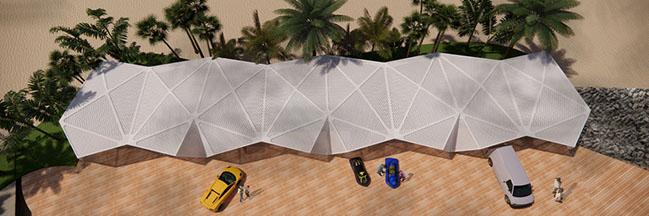 3Deluxe Designs Attractive Urban Beach With Marina in U.A.E.