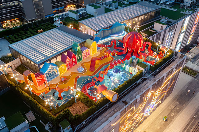 Octopus Kingdom by 100architects