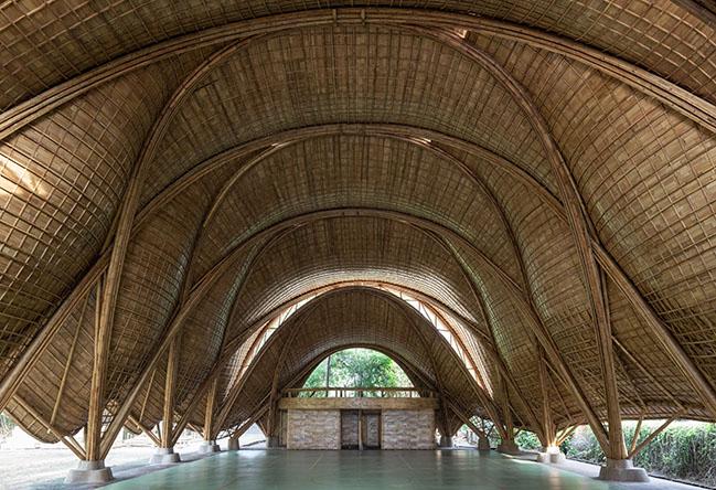 The Arc at Green School Bali by IBUKU