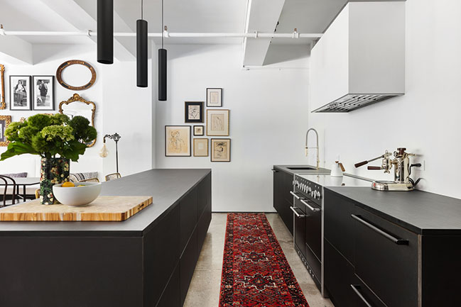 Chelsea Loft in New York by Kimberly Peck Architect
