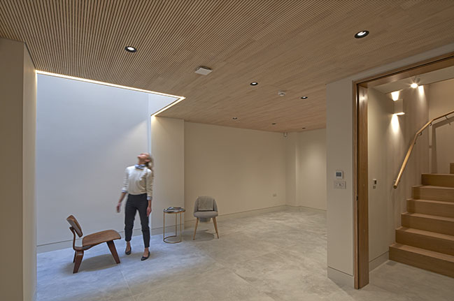 Woldon has completed a full refurbishment of a mews house in Marylebone