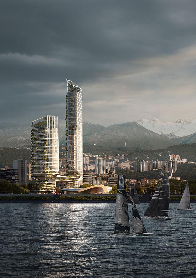 Sochi Waterfront by UNStudio