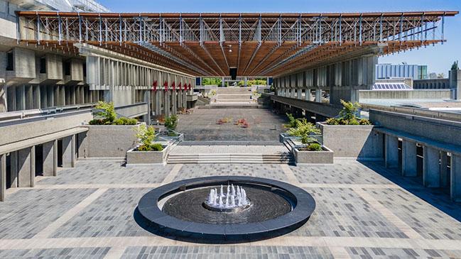 SFU Burnaby Plaza Renewal by PUBLIC: Architecture + Communication