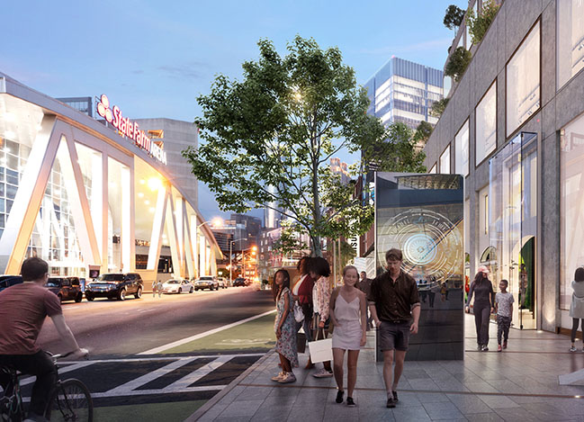 Master site plan for Atlanta's Centennial Yards revealed