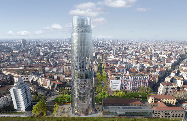 ACPV designs new office tower for Milan headquarters of A2A